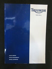 T3857017 TRIUMPH TIGER 955CC SERVICE MANUAL