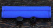 Blue Velo Track Bike GRIPS Drop Handlebars Fixed Gear Fixie Bicycle Bullhorn