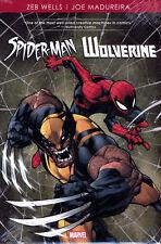 SPIDER-MAN / WOLVERINE by WELLS & MADUREIRA HARDCOVER Marvel Comics Team Up HC