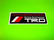 TOYOTA TRD RACING DEVELOPMENT RALLY CAR STREET RACING OFF ROAD 6 INCH STICKER