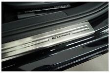 Edelstahl Exclusive Einstiegsleisten für VW Golf 7 Kombi Variant Limo Bj. 2012-