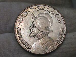 1934 Half Balboa PANAMA.  #49