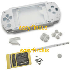 PSP 1000 series Full Housing Shell Case repair parts replacement white new