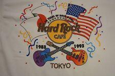 NOS Hard Rock Cafe Tokyo 10 Year Anniversary Tshirt! 1983 - 1993 Size XL Vintage
