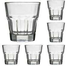 36 Anchor Hocking New Orleans 8oz Rocks Glasses Set 90007 Party Bar Stackable
