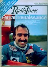 RADIO TIMES 20 JULY 1974 . MOTOR RACING BRITISH GRAND PRIX COVER . MOONWALK ONE