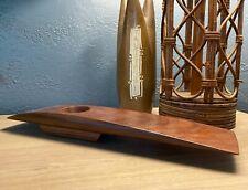 Ikebana Vase Joe Kovecses Handcrafted Exotic Wood Modernist Sculpture