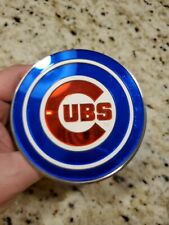 ULTRA RARE LARGE CHICAGO CUBS GLASS LOGO WITH BRACKETS! ONLY ONE ON EBAY!!!