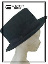 Cappello da uomo a cilindro G-Star Raw vintage Borsalino elegante invernale blu