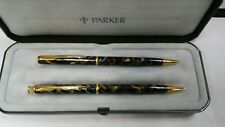 parker insignia pen and pencil set new with box and case
