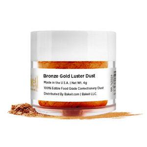 Bakell® 4g Bronze Gold Edible Luster Dust