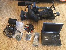 Canon video camera Xl-H1 3Ccd Hd, + Sony Hdv Gv-Hd700 Accessories