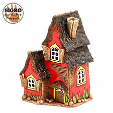 Keramik Teelichthaus Lichterhaus Teelichthalter Modell Fachwerkhaus 14 cm 40522