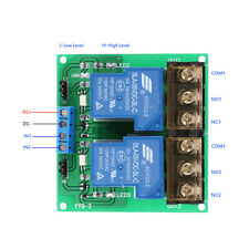 2-Channel 5V 30A Relay Board Module Optocoupler Isolation High/Low Trigger A1S2
