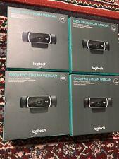 Logitech 1080p Pro Stream Webcam HD Video Web Cam FAST Ship