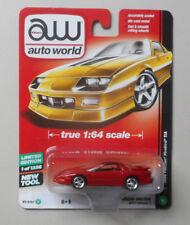 1996 RED PONTIAC FIREBIRD TRANS AM AUTO WORLD DIE-CAST 1:64 CAR