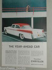 1956 Chrysler ad, Chrysler Windsor Sedan