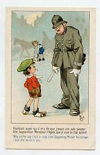 illustrateur MICH . CES COQUINS D'ENFANTS . POLICEMAN . Police . Gendarme