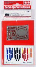 F1 Seat Belt Set F 1990S - 1/20 F1 Model Kit - Tamiya 12638