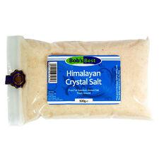 Himalaya salt crystal-Fine - 500g-rich mineral salt for table or solay
