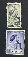 MOMEN: ST HELENA SG #143-144 1948 USED £45 LOT #5019
