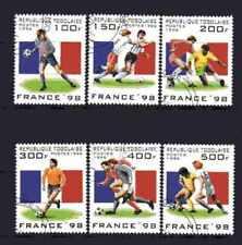 Football Togo (33) série complète 6 timbres oblitérés