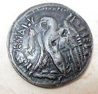 Egitto Moneta TOLOMEO V - riproduzione CARRARMATO Perugina anni '70 - n. 1052