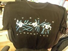 Justin Timberlake 2007 Futuresex / Loveshow Tour T-Shirt Size Medium Us & Canada