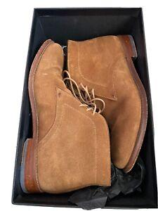 PS Paul Smith Morgan Terra Suede Boots Brown UK7 EU41