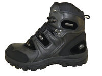"Pacific Trail Denali Mens Black Waterproof 6.5"" Leather / Synthetic Hiking Boots"
