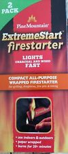 Pine Mountain ExtremeStart Firestarter NEW 2 pack 152371