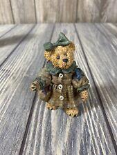 Boyds Bears Girl Bear In Coat And Bow Ornament 1997 Le 97 C12