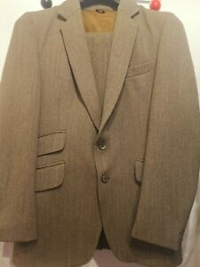 """40"""" MENS KEEPERS TWEED JACKET & TROUSERS SUIT RAT CATCHER VINTAGE LYNTON COUNTRY"""