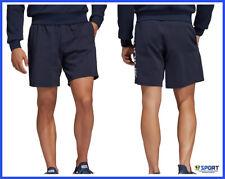 BERMUDA da UOMO ADIDAS Pantaloncini Corti shorts Palestra Running Sportivo BLU