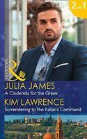 A Cinderella For The Greek, James, Julia, Like New, Paperback