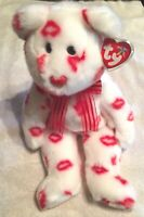 TY Beanie Buddy Smooch MWMT is 14 inches tall - Ships For FREE