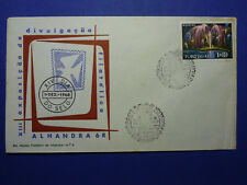 LOT 12641 TIMBRES STAMP ENVELOPPE JOURNEE DU TIMBRE PORTUGAL ANNEE 1968