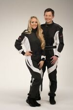 keep-racing® Kartoverall, Modell Cruiser, schwarz/weiß, Größe 72(4XL)