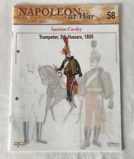 Caballería austriaco Trumpeter 5TH HUSSARS Napoleón @ guerra del Prado revista 58 sólo