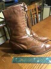 Ladies Leather Boots Shoes Vintage