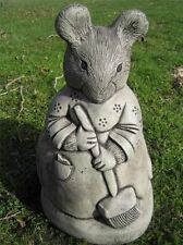 Miss Tittle Mouse Beatrix Potter stone garden ornament | <<VISIT MY SHOP>>
