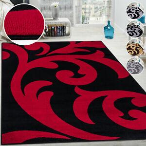 Anti Slip Living Room Bedroom Rug Floral Large Rugs Soft Modern Carpet Mat Floor