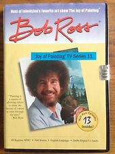 "Bob Ross Joy of Painting TV Series 11 DVD ""Happy Trees"""