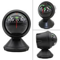1x Foldable Mini Car Dashboard Compass Ball Dash Mount Navigation Camping Hiking
