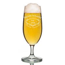 Leonardo vidrio Pilsner Copa de cerveza incl. grabado calidad WHISKY