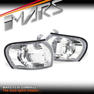 Crystal Side Corner Parker Lights for Subaru Impreza 93-00 GC8 & GF8 WRX STI RX