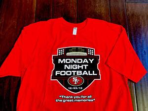 San Francisco 49ers Joe Montana 1981 1984 1988 1989 men's XL T Shirt