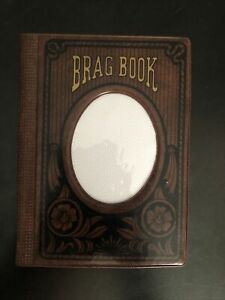 Photo Album Brag Book Brown 1985 Vintage Picture Album Book