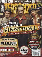 Terrorizer February 2010 Finntroll Killswitch Engage Die Hard 020818DBE