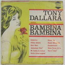 SEALED TONY DALLARA Bambina RARE 1967 VESUVIUS Italian Jazz Pop 1st PRESS